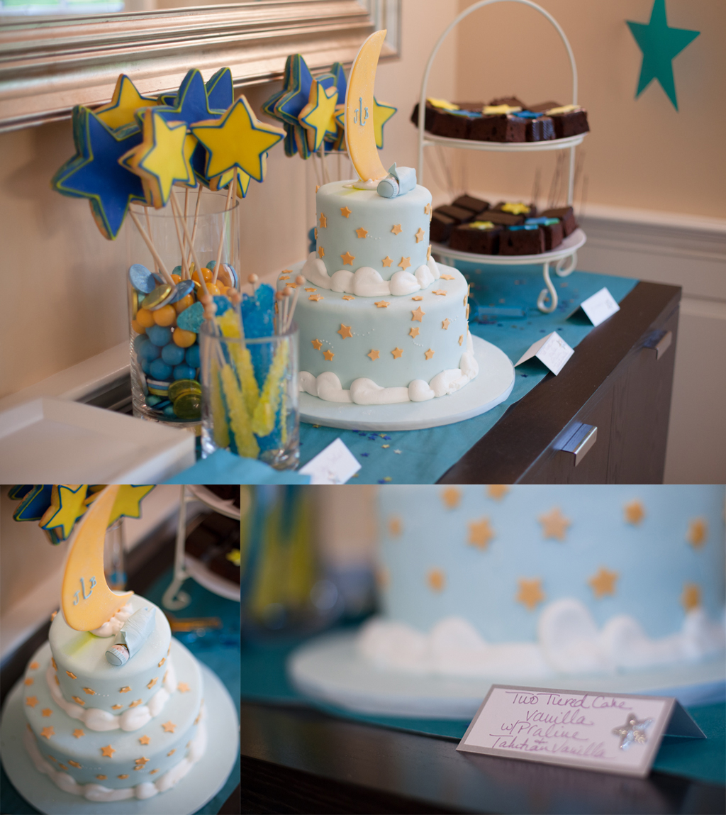 A Glamorous Baby Shower