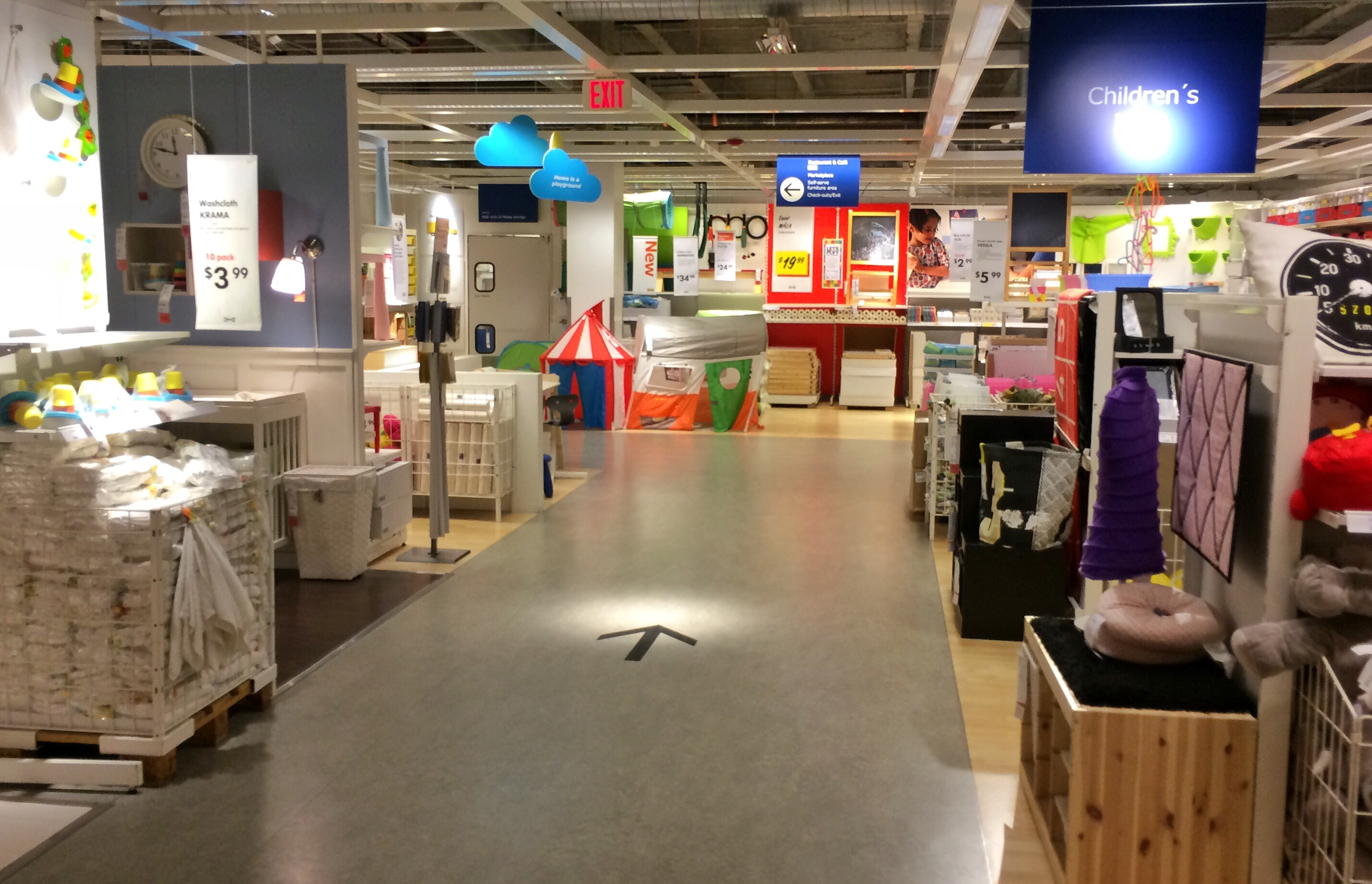 Ikea is a magical place!  We found lots of inspiration there